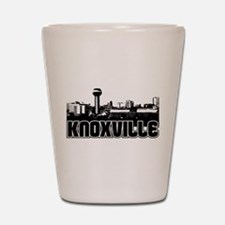 Knoxville Skyline Shot Glass