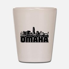 Omaha Skyline Shot Glass