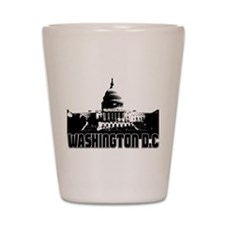 Washington DC Skyline Shot Glass