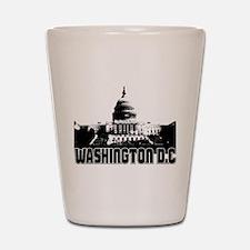 Washington DC Skyline Shot Glass