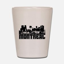 Montreal Skyline Shot Glass
