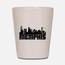 Memphis Skyline Shot Glass