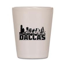 Dallas Skyline Shot Glass