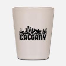 Calgary Skyline Shot Glass