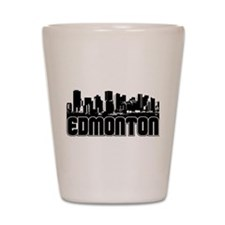 Edmonton Skyline Shot Glass