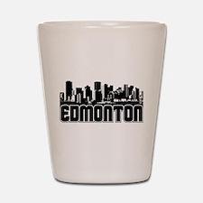 Edmonton Skyline Shot Glass