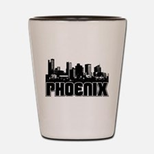 Phoenix Skyline Shot Glass