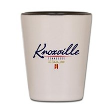 Knoxville Script Shot Glass