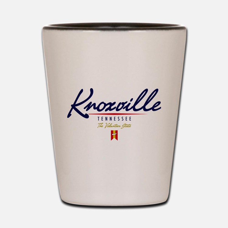 Knoxville Script Shot Glass