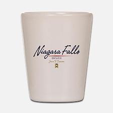 Niagara Falls Script Shot Glass