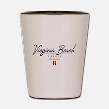 Virginia Beach Script Shot Glass