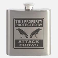 Protected By Attack Crows Flask