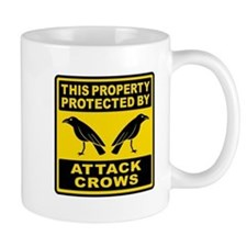 Protected By Attack Crows Mug