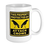 Crow Coffee Mugs