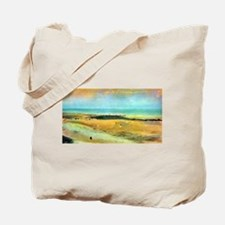 Edgar Degas Beach At Low Tide Tote Bag