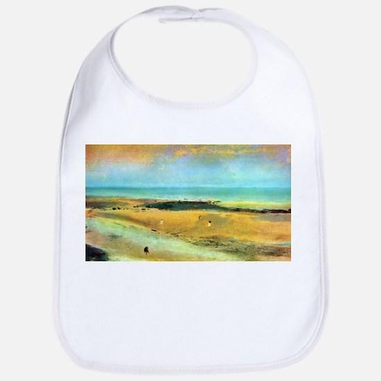 Edgar Degas Beach At Low Tide Bib