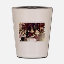 Edgar Degas Stage Trial Shot Glass