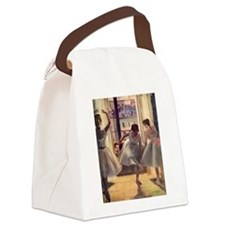 Edgar Degas Three Dancers Canvas Lunch Bag