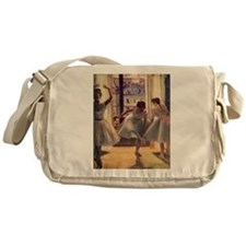 Edgar Degas Three Dancers Messenger Bag