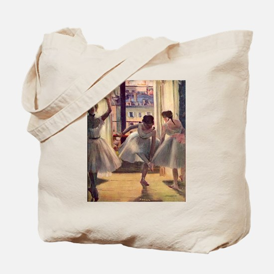 Edgar Degas Three Dancers Tote Bag