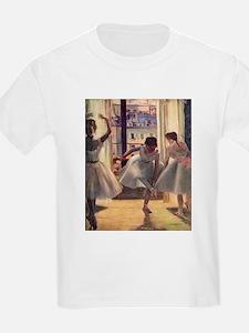 Edgar Degas Three Dancers T-Shirt