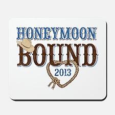 Honeymoon Bound 2013 Mousepad