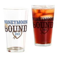 Honeymoon Bound 2013 Drinking Glass