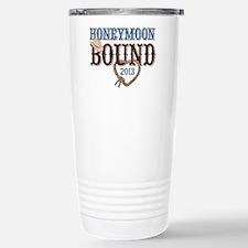 Honeymoon Bound 2013 Stainless Steel Travel Mug