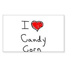 i love candy corn Decal