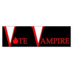 Vote Vampire - Bumper Sticker (10 pk)