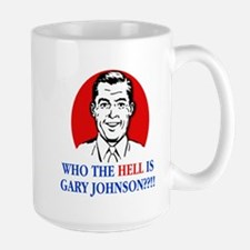 WTH is Gary Johnson? - Man Large Mug
