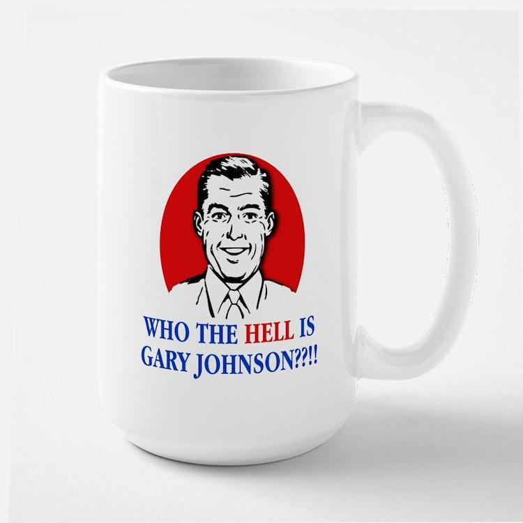 WTH is Gary Johnson? - Man Mug