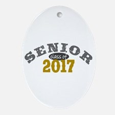 Senior Class of 2017 Ornament (Oval)