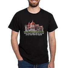 Victorian House Black T-Shirt