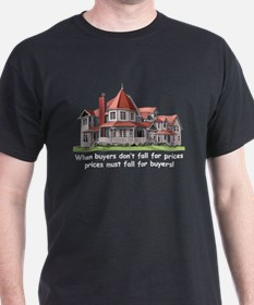 Victorian House Black T-Shirt