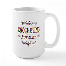 Crocheting Forever Mug