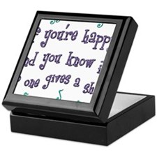 Happy Keepsake Box