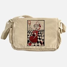 The Red Queen Messenger Bag