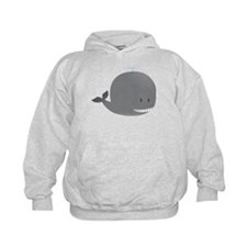 Cute and Cuddly Baby Whale Hoodie