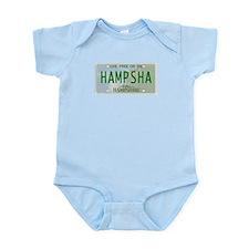 hampsha plate Infant Bodysuit