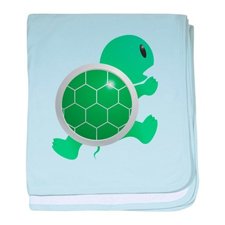 Cute and Cuddly Baby Turtle baby blanket