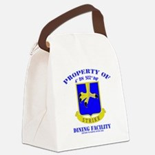 4/502 Canvas Lunch Bag