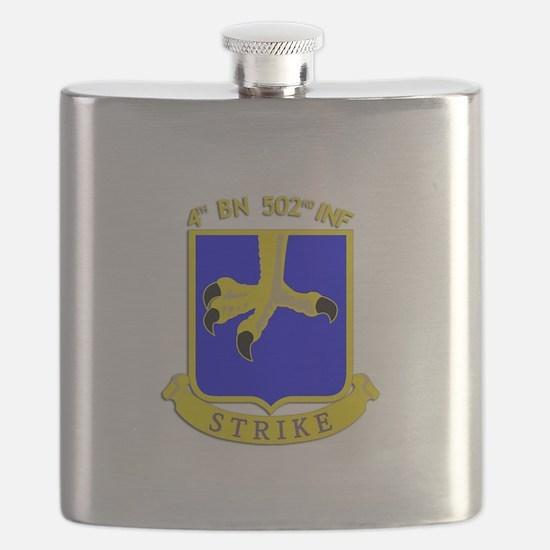 4/502 INF Berlin Brigade Flask