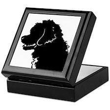 Portuguese Water Dog Head Keepsake Box
