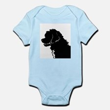 Portuguese Water Dog Head Infant Bodysuit