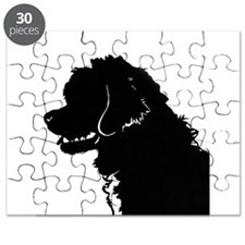 Portuguese Water Dog Head Puzzle