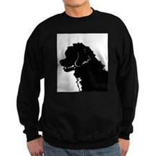 Portuguese Water Dog Head Sweatshirt