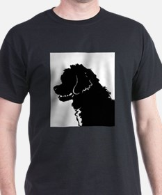 Portuguese Water Dog Head T-Shirt