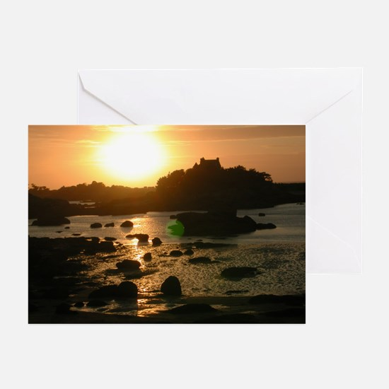 Ploumanac'h Sunset Greeting Cards (Pk of 10)
