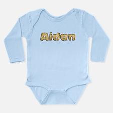 Aidan Toasted Long Sleeve Infant Bodysuit